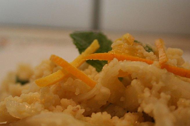 Orangen-Fenchel-Couscous