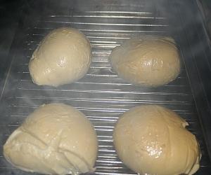Mozzarella im Räucherofen