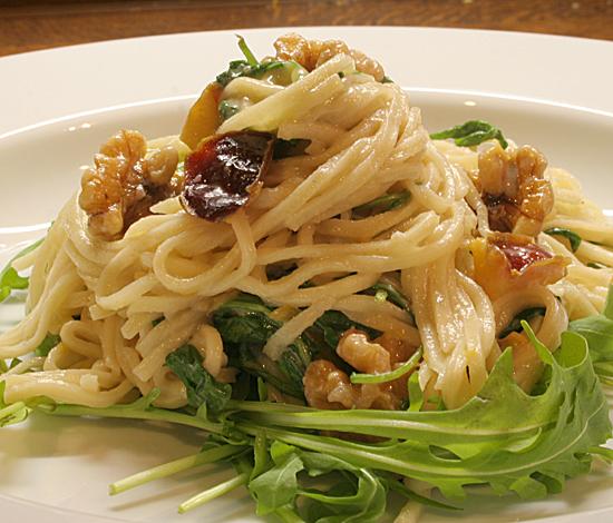 Spaghetti autunnale