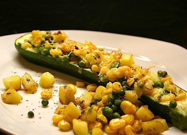 Schnelle Küche: Gefüllte Zucchini | Mestolo